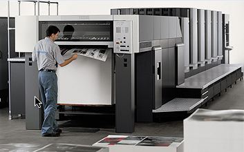 Heidelberg Speedmaster CD 102 printing press