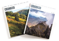 Seb Rogers,  publisher of CRANKED magazine