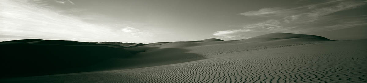 Pismo Beach CA dunes by neil barstow