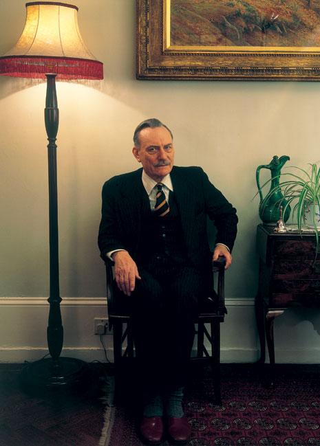 Tim Mercer Enoch Powell portrait